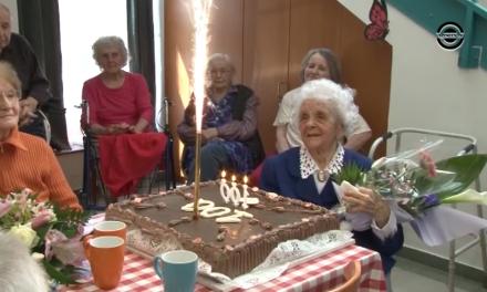 100 éves lett Bodrogi Istvánné