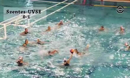 Szentes-UVSE női vízilabda mérkőzés 1. és 2. negyed