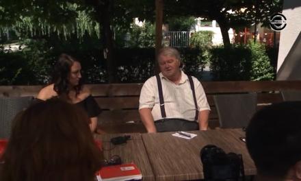 Szirbik Imre aktuális ügyekről beszél